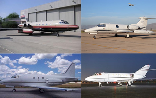 The Big Four: the aircraft that shaped private jet travel